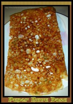 As I am a big dosa fan I would like to share my Dosa philosophy with you guys today. White crust and soggy dosa& definitely turns me off. Indian Breakfast, Breakfast Dishes, Indian Food Recipes, Vegetarian Recipes, Cooking Recipes, Rava Dosa, Batter Recipe, Chilli Paste, Dosa Recipe