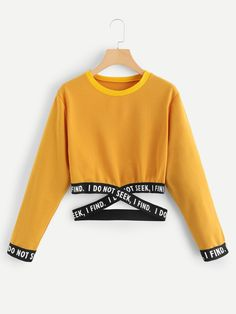 Blackpink Cropped O-Neck Sweatshirt Women Kpop Long Sleeve Sweatshirt 2019 Hot Sale Casual Streetwear Clothes Size From S to Teen Fashion Outfits, Outfits For Teens, Trendy Outfits, Cute Comfy Outfits, Cool Outfits, Mode Streetwear, Crop Top Outfits, Kawaii Clothes, Cool Clothes