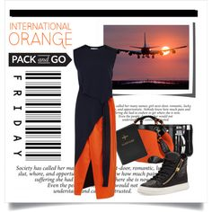 How To Wear On Friday. .. Pack & Go Outfit Idea 2017 - Fashion Trends Ready To Wear For Plus Size, Curvy Women Over 20, 30, 40, 50