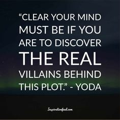 Yoda is one of the most well-known and beloved characters in the Star Wars franchise. Check out these wise Yoda quotes. Most Powerful Jedi, Famous Vampires, Yoda Quotes, Beloved Movie, Running Jokes, Clear Your Mind, Greed, Beautiful Words, Awakening