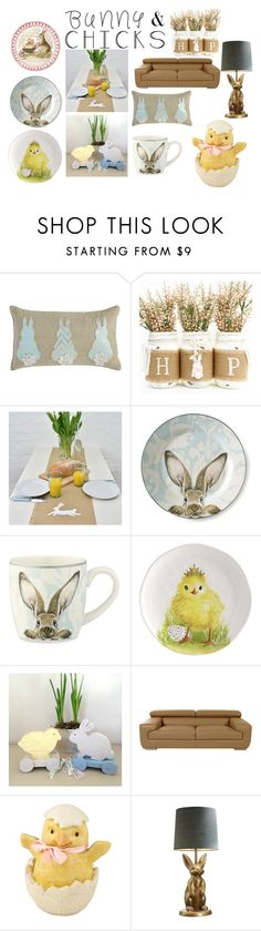 """Bunny & Chicks"" by nightmarexxoo ❤ liked on Polyvore featuring interior, interiors, interior design, home, home decor, interior decorating, Pier 1 Imports, Williams-Sonoma, PBteen and bunnieschicks"