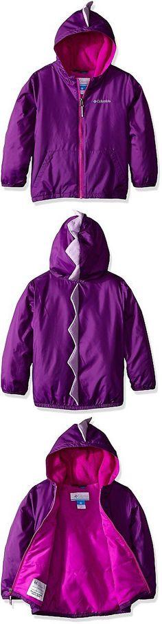 Outerwear 147202: Columbia Little Girls Toddler Kitterwibbit Jacket, Iris Glow, 2T -> BUY IT NOW ONLY: $44.04 on eBay!