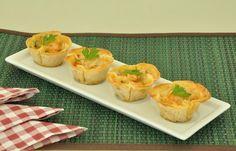 Confira esta receita de Empadinha de camarão com massa de pastel. É irresistível! As receitas são testadas e com foto. Clique e aproveite!