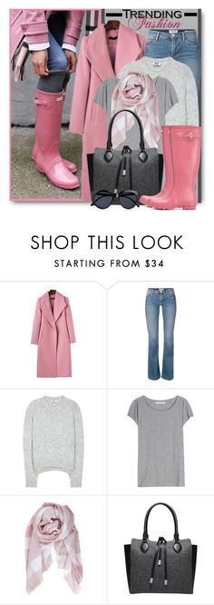 """""""Trending Fashion: Pink & Grey"""" by brendariley-1 ❤ liked on Polyvore featuring Acne Studios, Humble Chic, Michael Kors and Le Specs"""