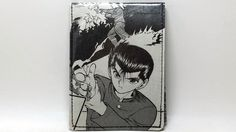Sewn Comic Book Wallet Yu Yu Hakusho Design 2 by DuctTuff on Etsy
