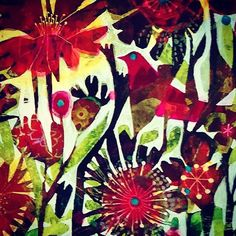 #closeup #painting #colours  #bird #flowers #garden @art_we_inspire @creativeinstaartists @drawsofinsta @phanasu @becraftsy