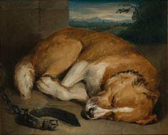 Sleeping Dog by Edwin Henry Landseer | Art Posters & Prints