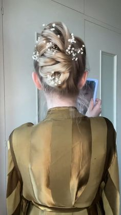 Hairdo For Long Hair, Easy Hairstyles For Long Hair, Up Hairstyles, Braided Hairstyles, Wedding Hairstyles, Medium Hair Styles, Curly Hair Styles, Hair Upstyles, Hair Videos