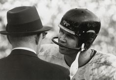 Mike Ditka and George Halas - Chicago Bears (1961)
