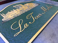 Cast Bronze Home Signs & House Name Plates