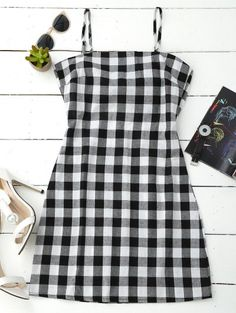 GET $50 NOW   Join Zaful: Get YOUR $50 NOW!http://m.zaful.com/slip-tie-back-plaid-dress-p_278546.html?seid=oivc17ro9lrpd06cpuu6m11lv3zf278546