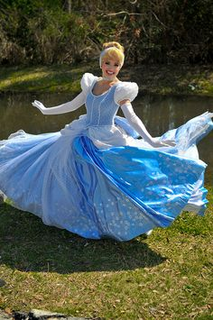 Work for day as the character of Cinderella at Disney World