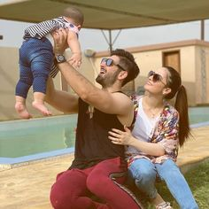 Couple With Baby, Cute Love Couple, Cute Girl Pic, Cute Couple Pictures, Couple Photos, Indian Wedding Couple Photography, Punjabi Actress, Cute Kids Pics, Teen Celebrities
