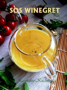 SOS WINEGRET Vinaigrette, Food And Drink, Cooking Recipes, Pudding, Ethnic Recipes, Desserts, Mudpie, Tailgate Desserts, Deserts