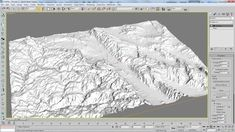 H. Creating a 3D plane object in 3D Studio Max