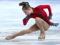 Yulia Lipnitskaya of Russia competes in the Team Ladies Free Skating | Sochi 2014 Winter Olympics
