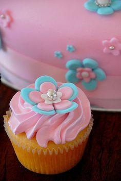 Fairy Birthday Cupcake