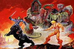 Masters Of The Universe - 26 (painting by Esteban Maroto) by Aeron Alfrey