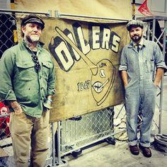 The Race of Gentlemen creator Mel Stultz (left) and partner Bobby Green (right)