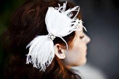 feather bow idea