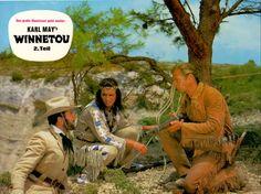 Winnetou 2 – Aushangfoto – Original Lobbycard / Aushangfoto des legendären Films mit PIERRE BRICE und LEX BARKER. www.starcollector.de