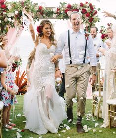Best Celeb Wedding Gowns of 2016-see the rest of the collection on www.onefabday.com