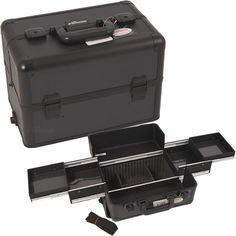 Black Dot Pro Makeup Case available on TheCosmeticSpace.com