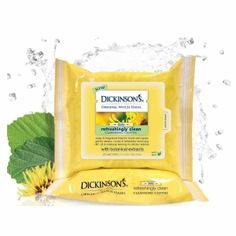 Dickinson's Original Witch Hazel Daily Refreshingly Clean Cleansing Cloths - 25 ea