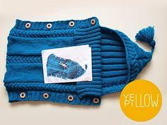 Pletený fusáček – PLETENÍ – NÁVODY Yellow Pillows, Knitted Slippers, Coin Purse, Purses, Wallet, Blog, Pattern, Google, Life