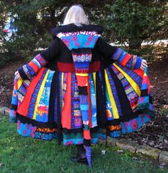 Technicolor Dream Coat Medium to Extra Large by maisestudio, $385.00