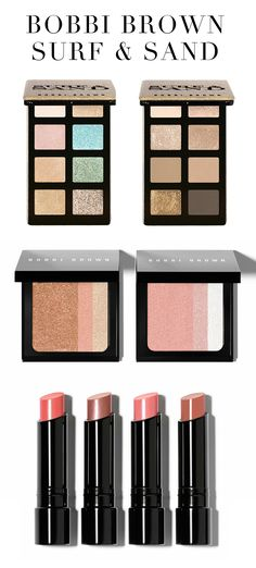 NEW Bobbi Brown Surf + Sand Collection