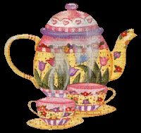 caf Spanish Prayers, Buenos Dias Quotes, Happy Birthday Greetings, Tea Pots, Google, Stamp, Animation, Stickers, Frases