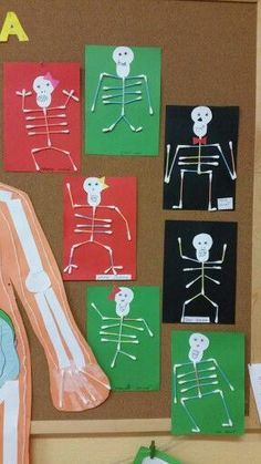 25 Body Parts Crafts - Early Childhood Education - Student On Human Body Science, Human Body Activities, Body Preschool, Preschool Activities, Science Experiments Kids, Science Projects, Art For Kids, Crafts For Kids, Early Childhood Education