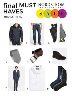 men's final must-haves of the nordstrom anniversary sale - ALL super good deals!!!