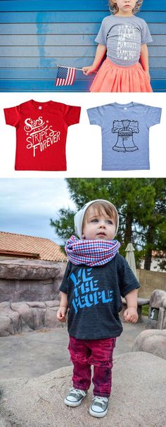 Apparel for the next generation of engaged citizens. #etsykids