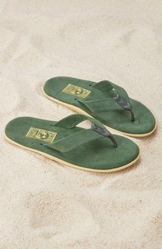 3a7f3009f4e ISLAND Slipper  Classic  Suede Flip Flop HELP A DAD OUT FOR FATHER S DAY Dad