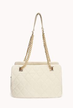 Quilted Double Strap Shoulder Bag | FOREVER 21 - 1077599375