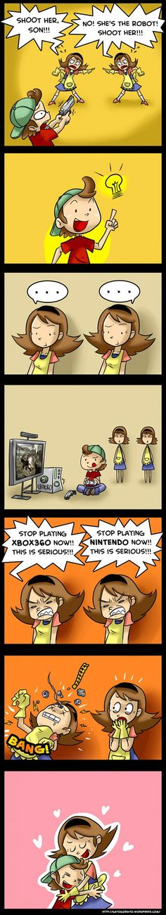 video games and moms