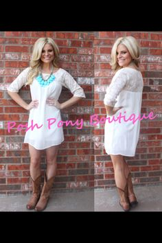 Posh Pony Boutique! To place an order please call 432 689-7669