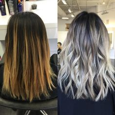 Hairstyles and Beauty: The Internet`s best hairstyles, fashion and makeup pics are here. Dark Roots Blonde Hair Balayage, Blonde Hair With Roots, Brown Blonde Hair, Brunette Hair, Hair Highlights, Blonde Grise, Hairstyles Haircuts, Funky Hairstyles, Formal Hairstyles