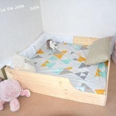 Lit au sol pour bébé #2 : nouvelle version !   La Vie Jolie Julie - Blog de maman & bébé