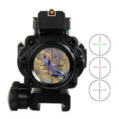 4x32 20mm Zwaluwstaart Acog Reflex Optics Riflescope Tactical Sight Voor Hunting Gun Rifle Airsoft Sniper Vergrootglas Aimpoint Scope