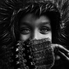 Kid / Black and White Photography by Lee Jeffries