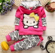 New baby girls christmas outfits Clothing sets hoodies+pant Children hoodies spring autumn kids 2pcs Sets sport Suit clothes set(China (Mainland))