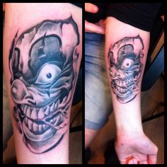 Lat'Ink Tattoo - Studio - Airbrush - Bodyart - Tatuering - Stockholm Artist: Freddy Tatueringsstilar Black & Grey