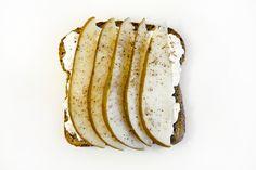 Cottage Cheese Pear & Nutmeg Toast