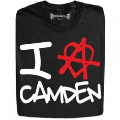 I Love Camden Funny Design T-Shirts And Hoodies