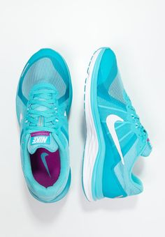 size 40 8e34a dc37c DUAL FUSION X 2 - Neutral running shoes - gamma blue white reflect silver -  Zalando.co.uk