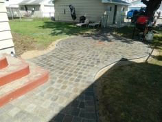 Inver Grove Paver patio with MN Red Bulls