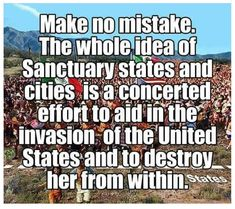This is why they are BORDER States and Cities, to SURROUND US. Why else would Muslims be moving to Michigan?